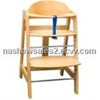 wooden High Chair BWHC-018