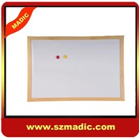 wooden framed magnetic boards