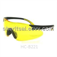 PC UV protected safety glasses (meet Ansi Z87+) (HC-B221)