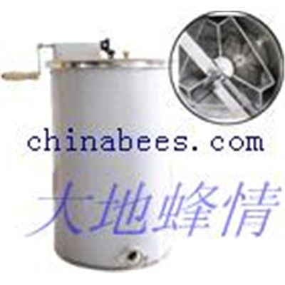 3 frame manual honey extractor