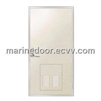 Aluminum Hollow Cabin Door