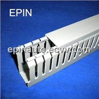 EPIN PVC wiring duct slotted(Grey)