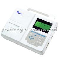 EM01 Single Channel ECG Machine