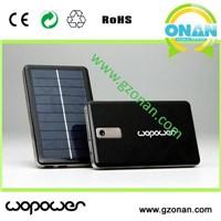 12000mAh capacity  Universal solar power bank for Smartphone/iPhone/iPod/Ipad