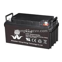 12v65ah AGM deep cycle battery