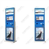 "17/19"" floor standing self-service register and payment kiosk for hospital"