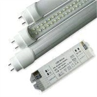 18W T8 LED Tubes, 1,700lm Luminous Flux, 90 to 260 V AC Voltage, 1,200mm Length, 2-year Warranty