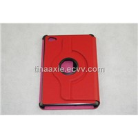 360 degree rotating, imported PU leather case for Samsung tablet PC, 7 inches tablet PC case
