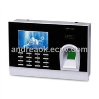 3.0-inch TFT Fingerprint Time Attendance, Supports RS232/485 Communication, USB-client