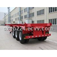 40ft 3 axles shipping container trailer