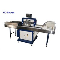 Automatic pen screen printer