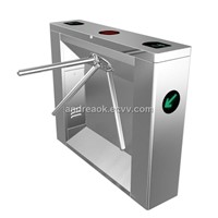 Bridge Type Tripod Turnstile w/ 2mm #304 Stainless Steel, Work-of-art Craft and 510mm Channel Width