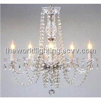 CHGCH25W24-2012Hot Selling Classic Crystal Decoration Candle Shape Chandelier