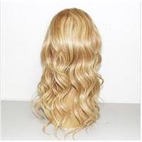 Clip in Half Wig 20 inch 27/613# Piano Silk Straight