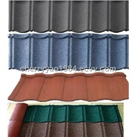 Color Stone Coated Steel Roof Tiles