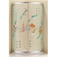 Handicraft shower enclosures, Quadrant shower enclosure Foshan Danfengbailu