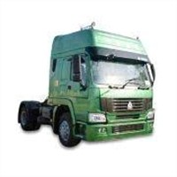 Howo 4 x 2 Tractor Truck with 19 Tons Loading Capacity and ZF8098 Steering