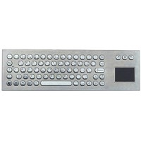 Ip65 Metal Keyboard with Touchpad for Kiosk (X-PP71F-S)