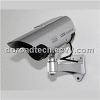 Indoor/Outdoor Dummy Camera Model (with LED Light ,Solar Powered)