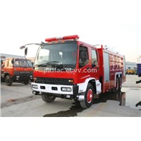 Isuzu Foam Dry Powder Dual Use Fire Fighting Truck