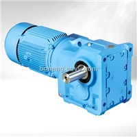 K Series Helical-Spiral Bevel Gear Reduction Box Decelerator