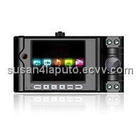 Latest HD Dual Camera Car DVR Car Camcorder Portable DVR with 2.7 inch LCD