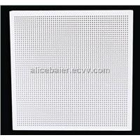 Perforated Gypsum Board Tiles with Painting Facing