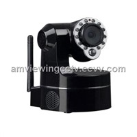 Pan Tilt Zoom Wireless Night Vision IP Camera,3X Optical Zoom PTZ IP Camera