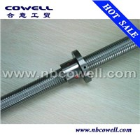 Plastic machine ball screw