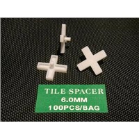 Plastic tile spacer