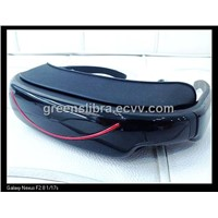 Portable Video Glasses GVG320LI LCD Display Support Video Music Picture E-book USB 2.0 32 GB TF Card