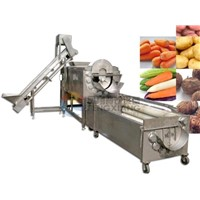 Potato Peeling & Polishing Line
