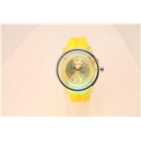 Round Luxury Silicone Watch