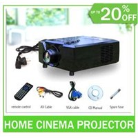SOHA digital 3d hdmi usb projector full hd for dvd,psp,wii,laptop,pc