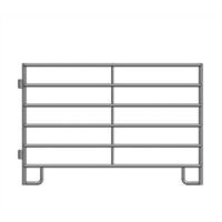 Standard Square Corner Corral Panel