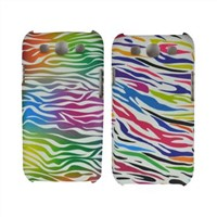 TPUPC Zebra printed case for Samsung I9300 ,picture printed in water transfer