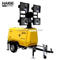 Telescopic mobile lighting tower MLT41000-10T