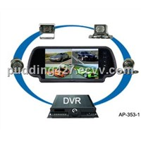 car rearview mirror system with mobile DVR