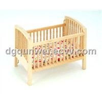 dollhouse mini baby cribs
