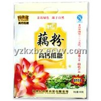Fine Print Vivid Color Food Packaging Bag