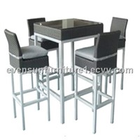 rattan bar set: ESR-11539