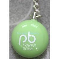 Resin Ball Keychain