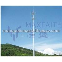 slip joint monopole / slip joint mast