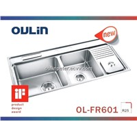Kitchen Sinks Stainless Steel (OL-FR601)