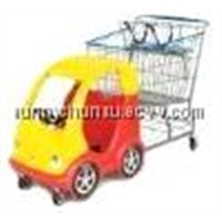 Plastic Kids Shopping Cart and Mould , OEM Service