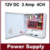 CCTV Power Supply 12v 3a 4ch power supply