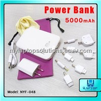 5000mah Universal Portable Power Bank for iPhone