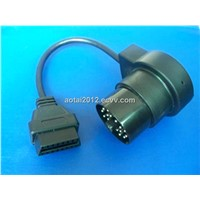 BMW Male DIagnostic Interface to OBD Female connector Cable