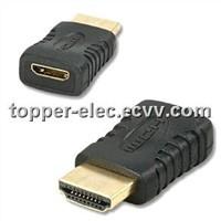 Mini HDMI Female to HDMI Male Adapter(TP-MH041)