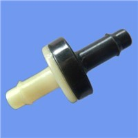 "1/4""ABS body materi silience seal material plastic non return check valve"